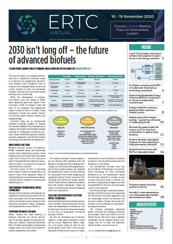2020 ERTC Newspaper