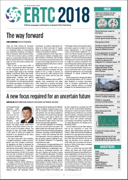 ERTC 2018 Newspaper