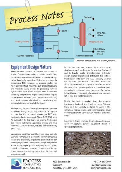 Equipment Design Matters