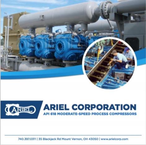 Ariel Coproration API 618 Moderate-Speed Process Compressors