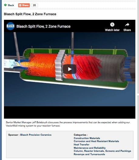 Blasch Split Flow, 2 Zone Furnace