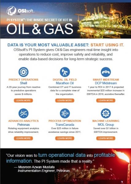 PI System™: The inside secret of IOT in Oil & Gas