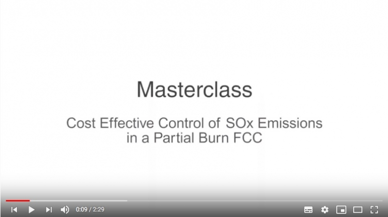 Johnson Matthey - Reducing SOx in partial burn FCC Units
