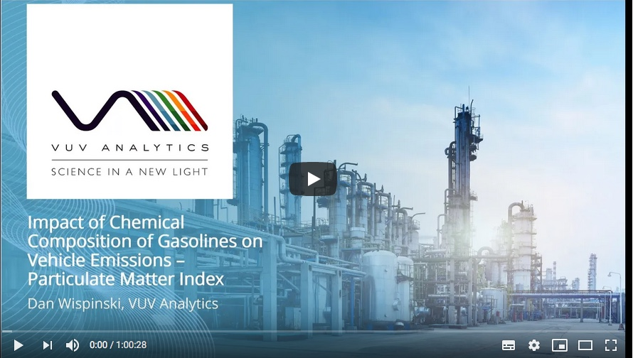Webinar: Linking vehicle emissions to gasoline composition A PMI analysis solution