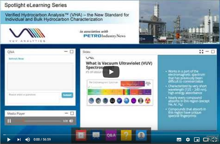 Verified hydrocarbon analysis the new standard for individual and bulk hydrocarbon characterization