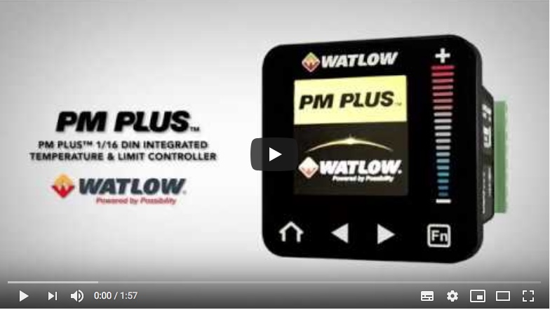 PM PLUS™ PID and Integrated Limited Controller