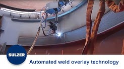 Sulzer Chemtech automated weld overlay