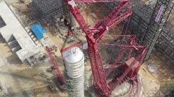 World's largest crude column installed